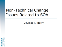 Non-Technical Change Issues Related to SOA